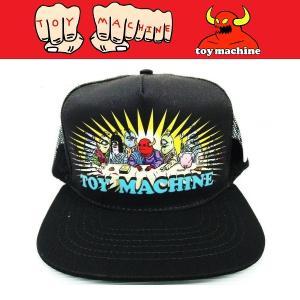 TOYMACHINE トイマシーン LAST SUPPER MESH CAP キャップ メッシュキャップ|moshpunx