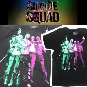 スーサイドスクワッド SUICIDE SQUAD ARKHAM GRAPHIC Tシャツ|moshpunx