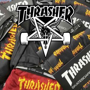 THRASHER BOXER TRUNKS スラッシャー ボクサーパンツ|moshpunx