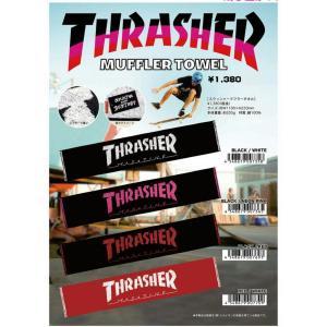 THRASHER MUFFLERTOWEL スラッシャー マフラー タオル|moshpunx
