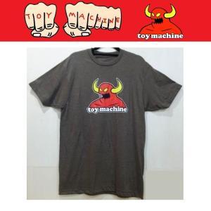 TOYMACHINE トイマシーン MONSTER TEE Tシャツ BROWN|moshpunx