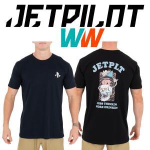 JETPILOT LESS THINKING MENS TEE ジェットパイロット Tシャツ moshpunx