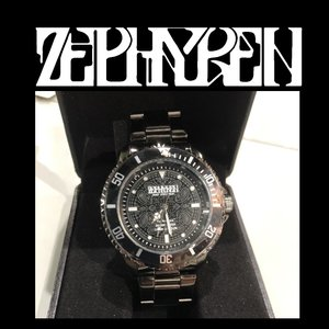 ZEPHYREN PAISLEY WATCH BLACK ゼファレン 腕時計|moshpunx