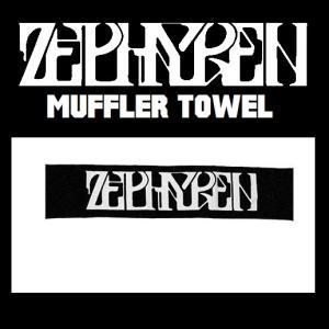 ZEPHYREN MUFFLER TOWE -VISIONARY- BLACK ゼファレン マフラータオル moshpunx