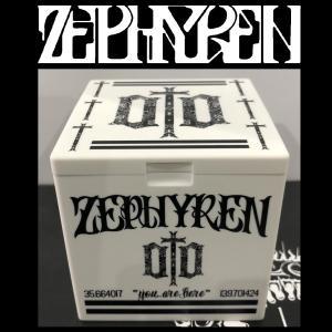 ZEPHYREN ASH TRAY -ENGRAVE- WHITE ゼファレン 灰皿 moshpunx