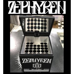 ZEPHYREN ASH TRAY -ENGRAVE- BLACK ゼファレン 灰皿 moshpunx