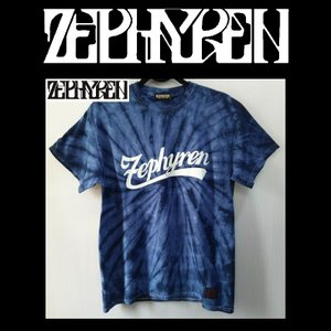 ZEPHYREN ゼファレン TIE DYE TEE BEYOND NAVY ゼファレン タイダイ Tシャツ moshpunx
