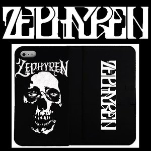 ZEPHYREN FLIP iPhone CASE -Skull Head- iPHONE 8 ゼファレン アイフォンケース|moshpunx