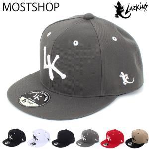 キャップ メンズ 帽子 ベースボールキャップ ローキャップ ラーキンス LARKINS 無地 コットン 綿 刺繍 ロゴ 文字 ゴルフ 野球帽 ブランド 男女兼用 ユニセックス|mostshop