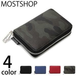 二つ折り財布 メンズ 財布 ラウンドファスナー サイフ さいふ フェイクレザー コンパクトウォレット 2つ折り財布 男性用 小銭入れ 小物|mostshop