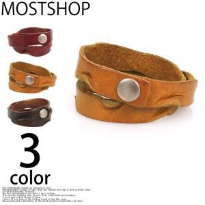 ブレスレット メンズ ブレスレット 本革 ブレスレット レザー アクセサリー 小物|mostshop