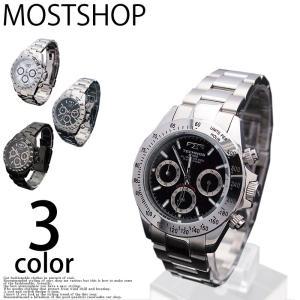 腕時計 メンズ 腕時計 10気圧防水 クオーツ クロノグラフ テクノス TECHNOS mostshop