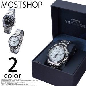 腕時計 メンズ 腕時計 テクノス TECHNOS ウォッチ 自動巻き クロノグラフ mostshop