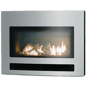暖房器具 ガス暖炉 リンナイ アリーバ(Arriva) PLASMA 曲面ガラスシルバー RHFE-750ETR-GS|mot-e-gas