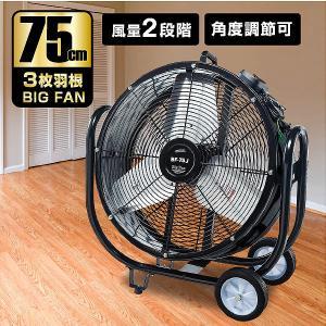 ナカトミ BF-75V 業務用扇風機 大型工場扇 工業扇 65cm 全閉式 ビッグファン 企業法人向け 扇風機 送風機 75cm羽根 キャスター付き  大型 熱中症対策 mote-kagu