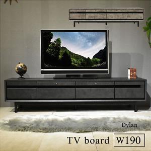 テレビ台 テレビボード ローボード 190センチ TV台 収納 収納棚 リビング ロータイプ 薄型 脚付き|ディラン|mote-kagu