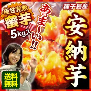 種子島 安納芋 蜜芋 (5kg) サツマイモ 産地直送 夢百笑 大人気|mote-kagu