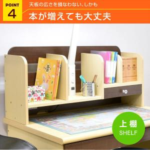 レビューで1年補償 学習机 勉強机 パーフェクト (T型LEDデスクライト+学習椅子付)-ART ハンガーラック 書棚 ワゴン デスク mote-kagu 10