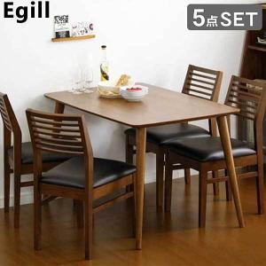 ダイニングセット【Egill-エギル-】5点セット(スタンダードチェアタイプ)|mote-kagu