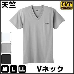 商品番号:HK8015B  G.T.HAWKINS ホーキンス 速乾 乾燥機対応 VネックTシャツ ...