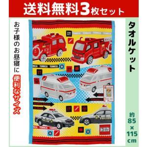 商品番号:KI455000-SET  送料無料3枚セット 林タオル トミカ マルチタオル バディ バ...
