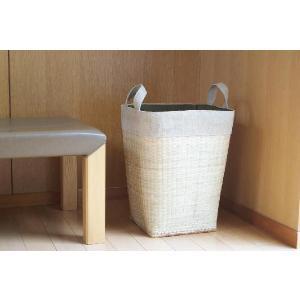 竹ランドリーボックス L 縦型 056-03855 コタン ベトナム 雑貨 アジアン 雑貨 枯淡 cotan motebeauty