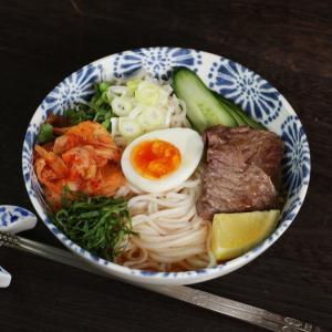 冷麺 4食 盛岡 純米めん ノングルテン グルテンフリー メール便送料無料 ポイント消化 冷やし中華
