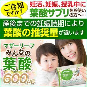 推奨量をきっちり摂取できることと安全安心にこだわった妊活期〜授乳中まで時期に合わせた3種類の葉酸サプ...