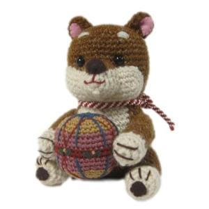 オリムパス 編みぐるみキット てまりワンコのキット  mk81|mothersdream
