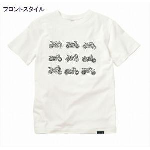 KAWASAKI 川崎重工デザイナーズ Tシャツ BABY MOTO/Mサイズ J8901-0765|moto-jam