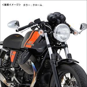 DAYTONA  HIGHSIDER バーエンドミラー フェッララII(ブラック) moto-jam 05