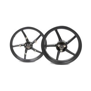 KN企画 GSX-R125/150・GSX-S125/150 RCB 鋳造ホイール前後セット SP522(ブラック) 01S0389H|moto-jam