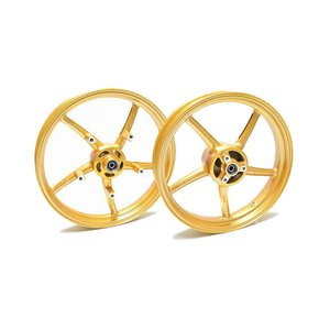 KN企画 GSX-R125/150・GSX-S125/150 RCB 鋳造ホイール前後セット SP522(ゴールド) 01S0389G|moto-jam