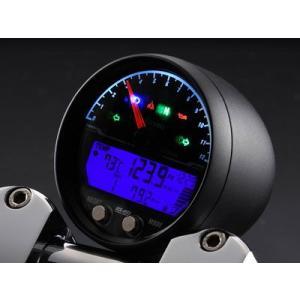 12V汎用 デジタルメーター:ACE-4353AB/CP(6000rpm表示)_エースウェル/ACEWELL|moto-ship
