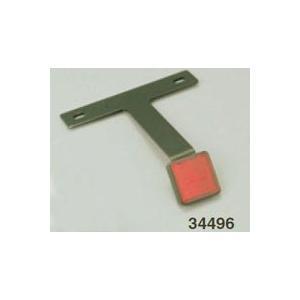 汎用 アルミリフレクターキット(ブラックアルマイト) 34496_デイトナ/DAYTONA|moto-ship