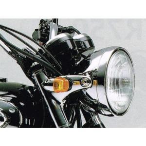 カワサキ純正 W800(11-17)用 メッキヘッドライトケース_KAWASAKI-23005-1178|moto-ship