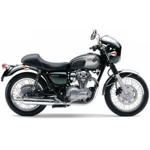カワサキ純正 W800(11-17)用 CAFE-STYLEビキニカウル&シングルシート(全9色)_KAWASAKI-J2003-W800-01 moto-ship