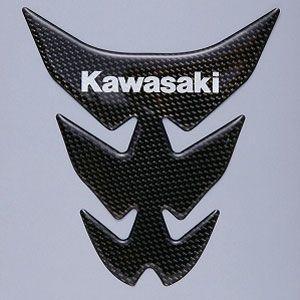 カワサキ純正 汎用タンクパッド(カーボン/Kawasaki)_KAWASAKI-J2007-0037|moto-ship