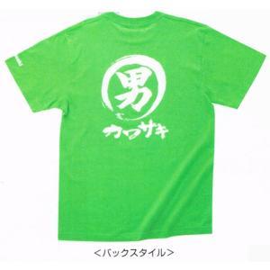 カワサキ純正 男カワサキTシャツ(グリーン/Lサイズ)_KAWASAKI-J8901-0719|moto-ship
