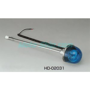 ハーレーツーリングモデル用 回転灯(ポール付) HD-02031_キジマ/KIJIMA|moto-ship