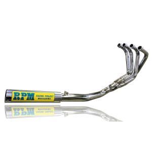 ホーネット250(MC31)用 67Racingマフラー(スチール/アルミ) 2647_アールピーエム/RPM|moto-ship