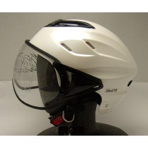 OWLハーフ・ヘルメット(パールホワイト) TT-OWL-HHJ-PW_東単/TOHTAN|moto-ship
