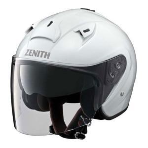 ヤマハ純正 ジェットヘルメットYJ-14ゼニス(パールホワイト)_ワイズギア/YAMAHA-90791-2278|moto-ship