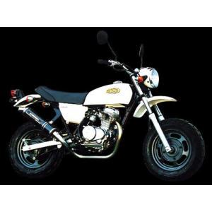 エイプ50/APE50(-03)用 機械曲チタンサイクロン(T-1):TT 110-405-8280_ヨシムラ/YOSHIMURA|moto-ship
