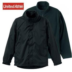【United Athle】ナイロン&フリース 3WAY スタンド ジャケット(フードイン)|motobluez-store