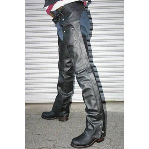 【ALL STATE LEATHER】 バッファローレザーチャップス(4XL)|motobluez-store