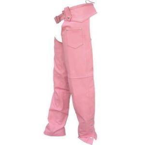 【ALL STATE LEATHER】レディースカウハイドチャップス・ピンク motobluez-store