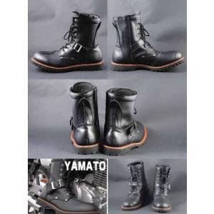 人気商品!!【AVIREX】 ライダースブーツ YAMATO|motobluez-store