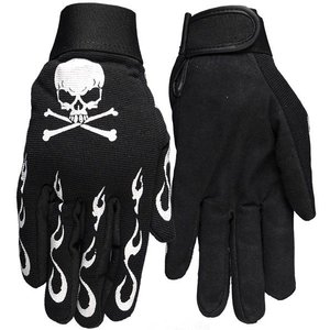 【HOT LEATHER】メカニックグローブ Skull & Crossbones motobluez-store