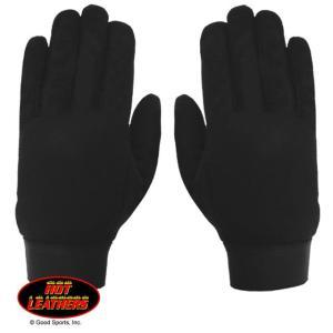 【Hot Leathers】メカニックグローブ Plain Black motobluez-store